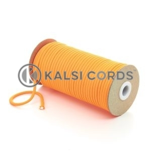 5mm Round Fluorescent Neon Orange Polyester Cord Braided String Drawcord Drawstring Joggers Hoody Bag T621 Kalsi Cords