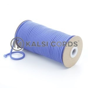 5mm Round Lilac Polyester Cord Braided String Drawcord Drawstring Joggers Hoody Bag T621 Kalsi Cords