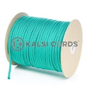 6mm Emerald Green Polypropylene Cord String Rope Roll Spool P206 Kalsi Cords