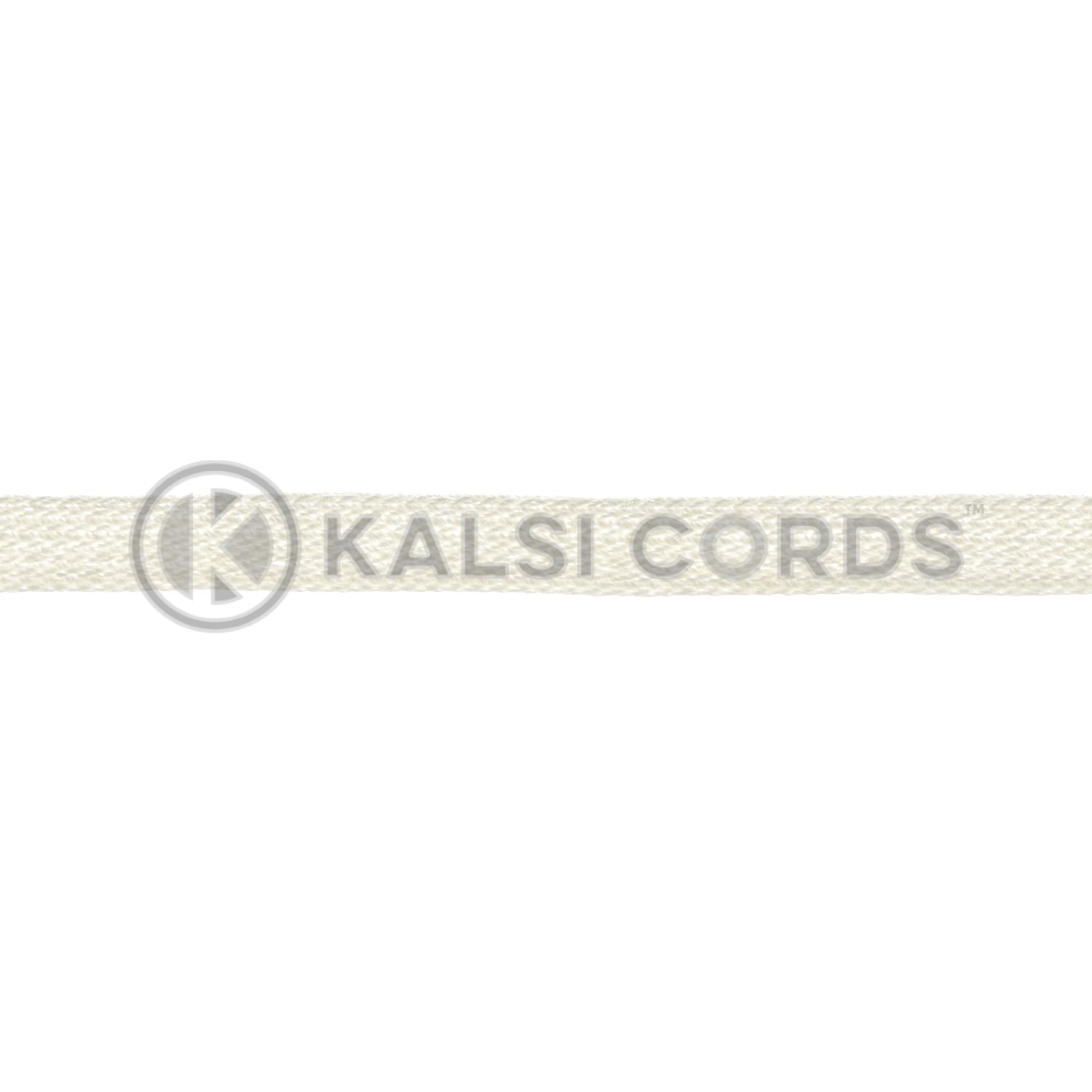 6mm Flat Cotton Braid Tape Cord Binding String Strapping TC31 Kalsi Cords