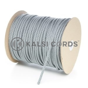 6mm Grey Silver Polypropylene Cord String Rope Roll Spool P206 Kalsi Cords