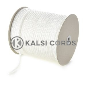 6mm Natural White Polypropylene Cord String Rope Roll Spool P206 Kalsi Cords
