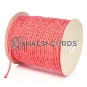 6mm Red Polypropylene Cord String Rope Roll Spool P206 Kalsi Cords