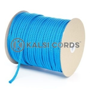 6mm Royal Blue Polypropylene Cord String Rope Roll Spool P206 Kalsi Cords