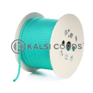 7mm Emerald Green Polypropylene Cord Rope Roll Spool P219 Kalsi Cords