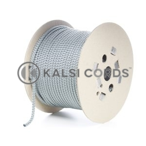 7mm Grey Silver Polypropylene Cord Rope Roll Spool P219 Kalsi Cords