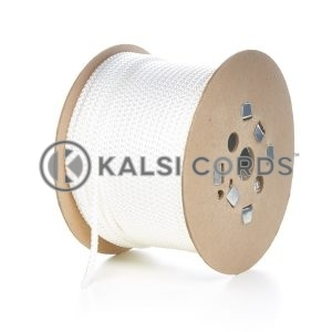 7mm Natural White Polypropylene Cord Rope Roll Spool P219 Kalsi Cords