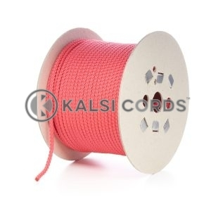 7mm Red Polypropylene Cord Rope Roll Spool P219 Kalsi Cords