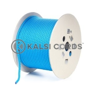 7mm Royal Blue Polypropylene Cord Rope Roll Spool P219 Kalsi Cords