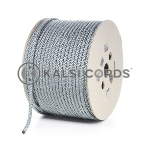 8mm Grey Silver Polypropylene Cord Rope Roll Spool P217 Kalsi Cords