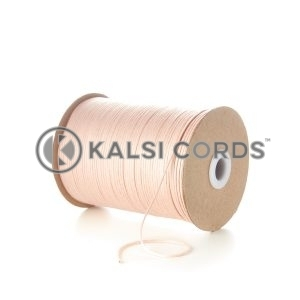 Pink 2mm Round Cotton Cord by Kalsi Cords