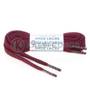 R1472 Burgundy Sports Flat Shoe Laces Kalsi Cords