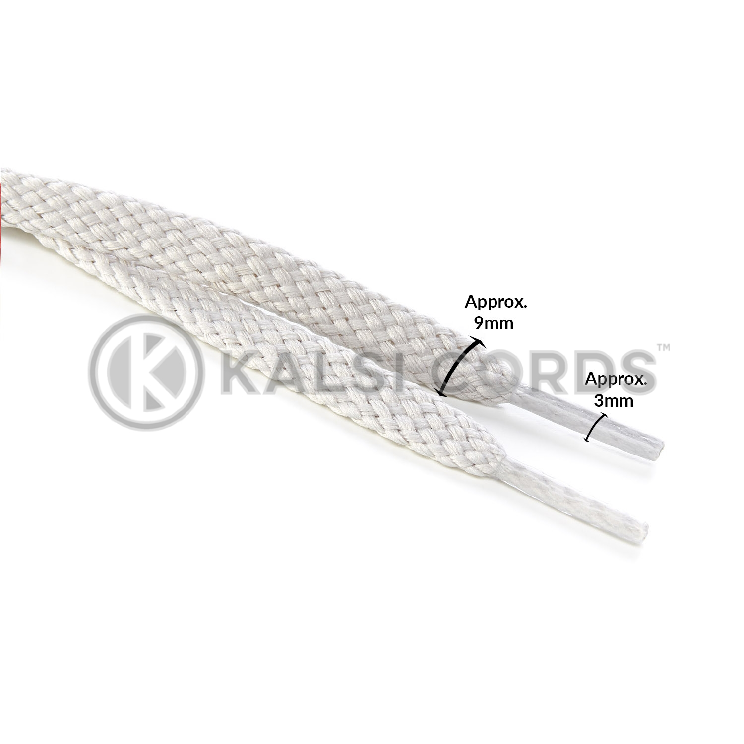 R1472 Seagrass Sports Flat Shoe Laces Kalsi Cords