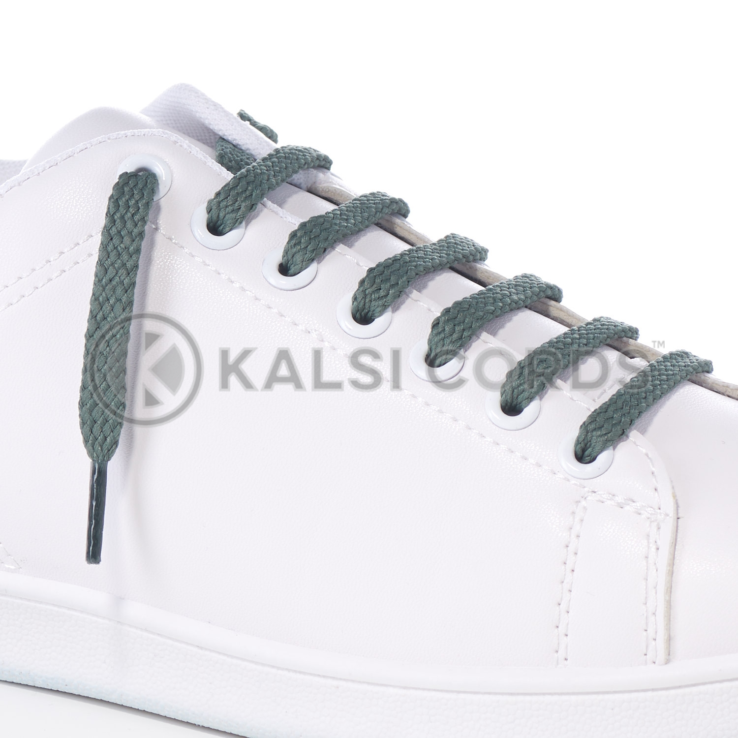 R1472 Thyme Sports Flat Shoe Laces Kalsi Cords