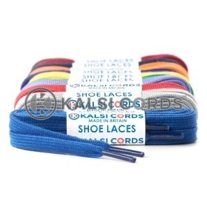 Premium Flat Spun Poly Shoe Laces