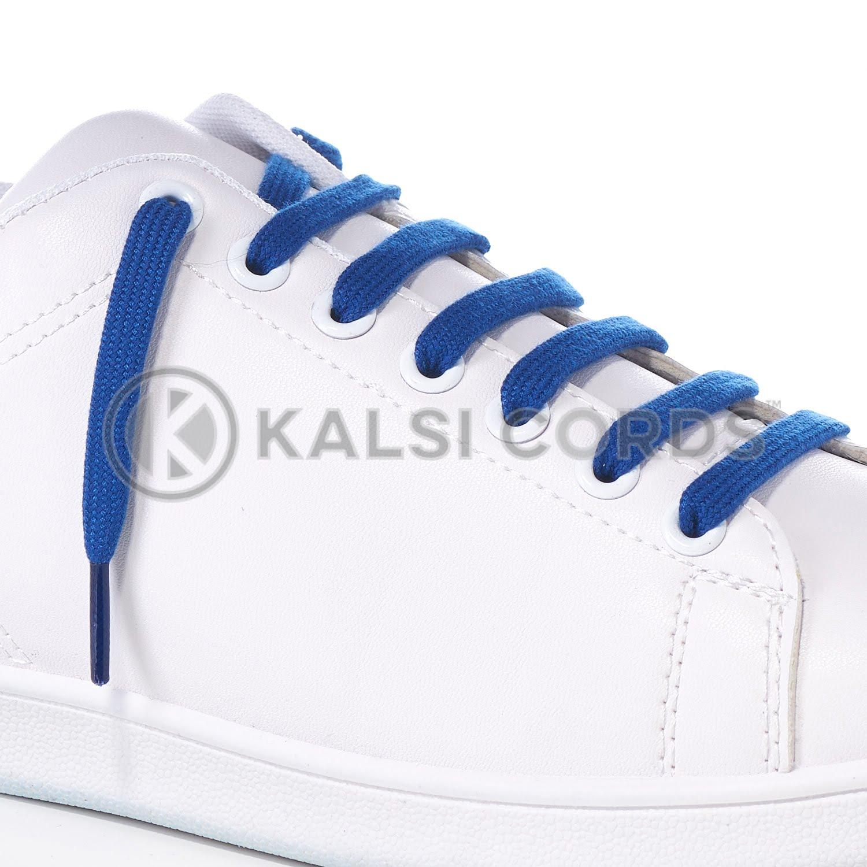 Royal Blue Premium Flat Spun Poly Shoe