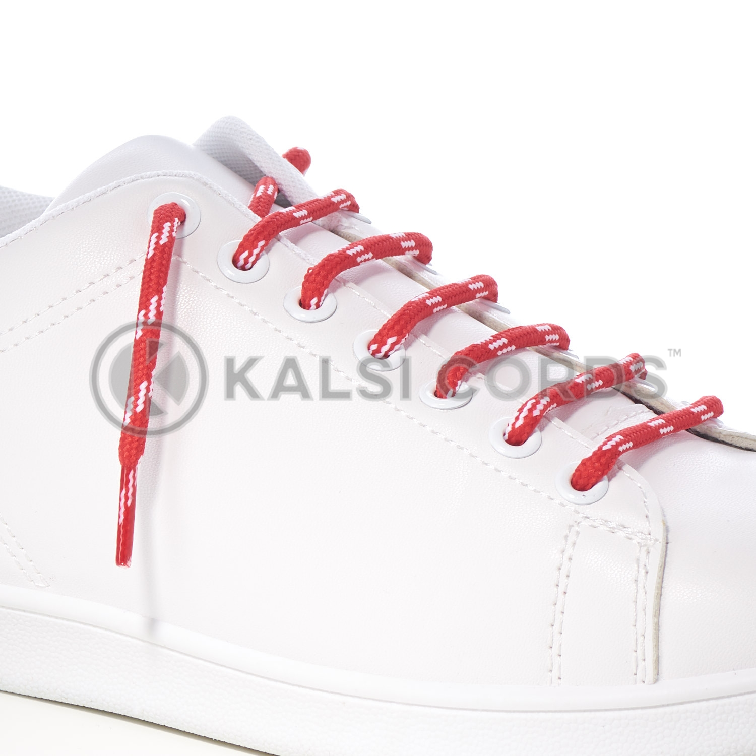ROSE MADDER RED ROUND CORD SHOE LACES STRONG THICK ROPE LACE SPORT TRAINER BOOT