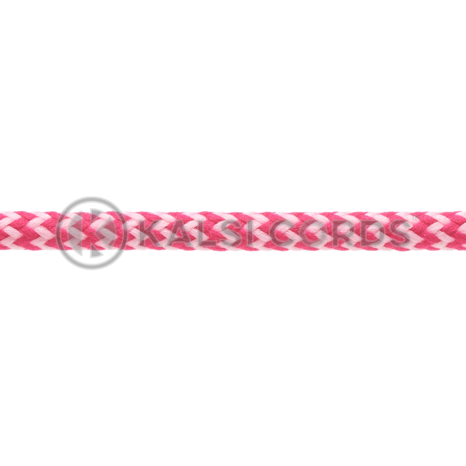 T621 5mm Round Cord Shoe Laces Cerise Baby Pink Herringbone Pattern Kids Trainers Adults Hiking Walking Boots Kalsi Cords