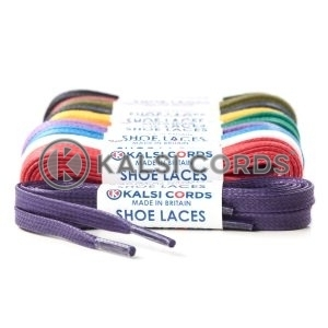 6mm Flat Waxed Cotton Shoe Laces