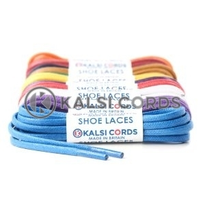 4mm Thick Chunky Round Waxed Shoe Laces
