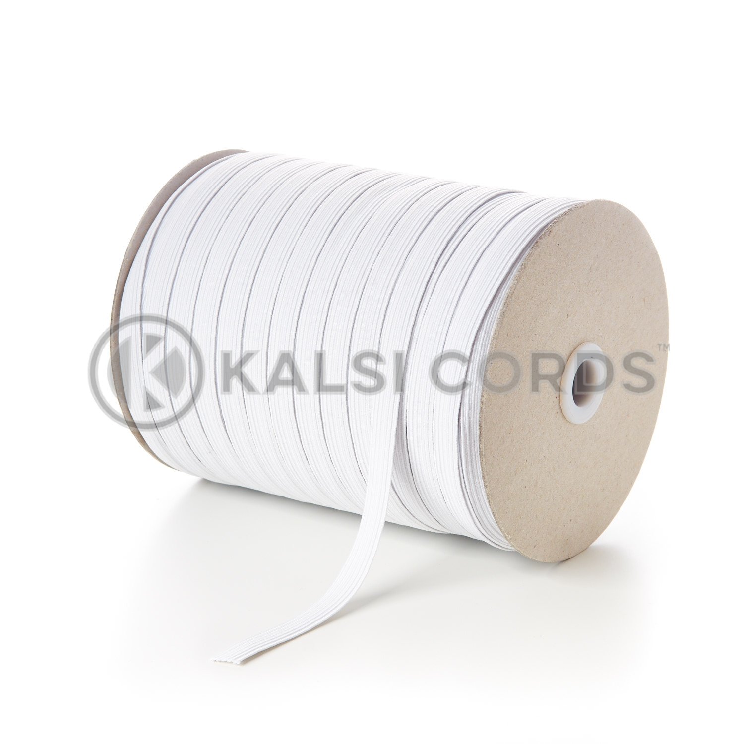 50mm Flat Strong Woven Elastic Black and White Various lengths available