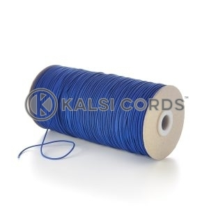 1.5mm Royal Blue Thin Fine Round Elastic Cord TPE71 Kalsi Cords Bungee Shock Cord Stretch Gift Tagging Jewelry Making Beading Labelling Garment Swing Tickets Within Garments Car Air Freshner Elastic