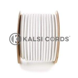 10mm White Round Elastic Bungee Shock Cord by Kalsi Cords