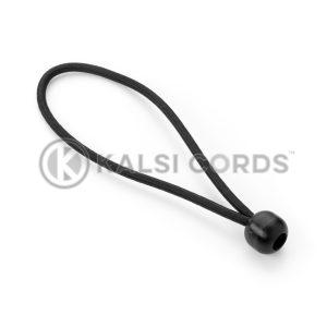 Elastic Ball Tie Loops BTL PE114 BLK Kalsi Cords 1