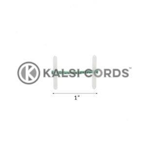 1 Inch 25mm Plastic Treasury Tags by Kalsi Cords