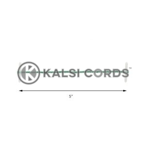 5 Inch 127mm Plastic Treasury Tags by Kalsi Cords