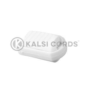 Crocodile Clip Y255 AC003 White Kalsi Cords 2