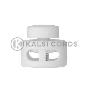 Drum Toggle 2 Hole TD2913 White Kalsi Cords 2