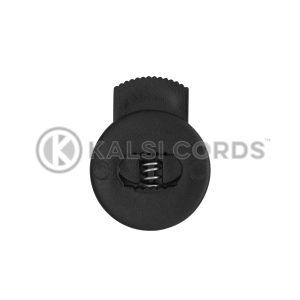 Flat Circular Toggles C14 Black Kalsi Cords 2