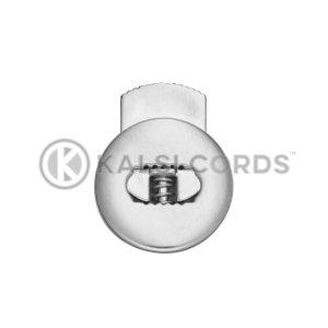Flat Circular Toggles C14 Silver Kalsi Cords 2