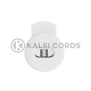 Flat Circular Toggles C14 White Kalsi Cords 2