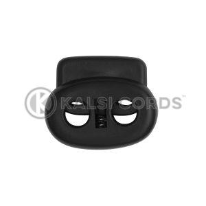 Large Pig Nose Toggle C22 Black Kalsi Cords 2
