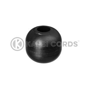 Plastic Ball Ties Rope End Tidy PBT 5 BLK Kalsi Cords Top