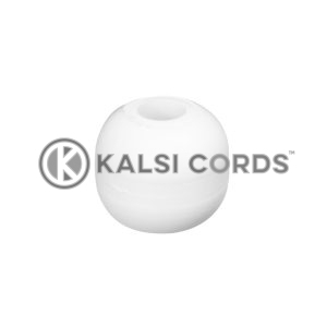 Plastic Ball Ties Rope End Tidy PBT 5 WHT Kalsi Cords Top