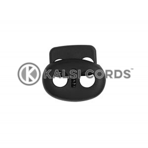 Small Pig Nose Toggle TD3310 Black Kalsi Cords 2 1