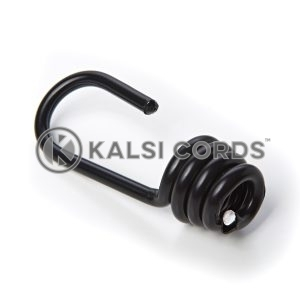 6mm Plastic Coated Luggage Strap Metal Hook Kalsi Cords