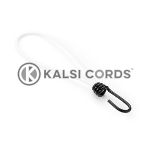 Elastic Metal Hook Loop Ties MHL PE114 NAT Kalsi Cords 1
