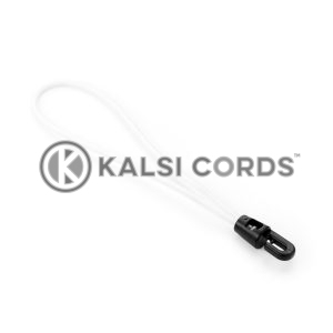 Elastic Mini Hook Loop Ties MPL PE116 NAT Kalsi Cords 1