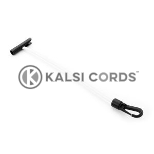 Elastic T Bar Plastic Gated Hook TB PGH PE114 NAT Kalsi Cords 1