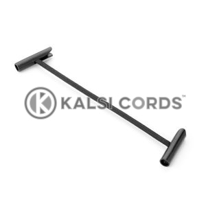 Elastic T Bar Ties TB PE114 BLK Kalsi Cords 1
