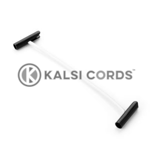 Elastic T Bar Ties TB PE114 NAT Kalsi Cords 1