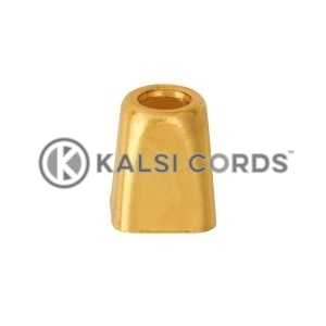 Metal Cord Ends IM2728 Gold Kalsi Cords 3