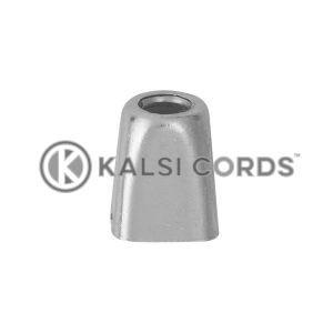 Metal Cord Ends IM2728 Silver Kalsi Cords 3