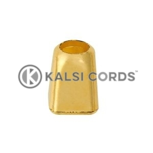 Plastic Cord Ends IM3946 Gold Kalsi Cords 3