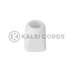 Plastic Cord Ends IM3946 White Kalsi Cords 3