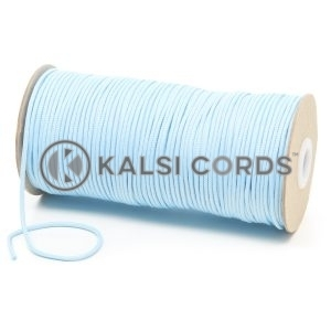 T460 2mm Thin Round Polyester Cord Baby Blue Kalsi Cords